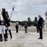 4 Novembre: Presidente Mattarella all'Altare della Patria