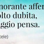 Sanremo: Amadeus il post ... il saggio pensa
