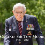 Sir Tom Moore a 100 anni si arrende al Covid