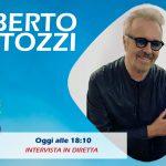 Umberto Tozzi ospite a Radio Subasio