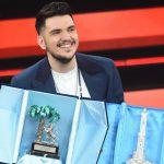 """Sanremo 2021 Giovani: vince Gaudiano con """"Polvere da sparo"""""""