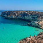 La spiaggia più bella d'Europa si trova a Lampedusa