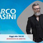 Marco Masini in diretta a Radio Subasio