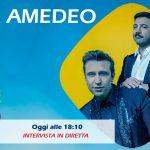 Pio e Amedeo ospiti in diretta a Radio Subasio