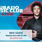 La leggerezza e l'ironia di Max Gazzè a Subasio Music Club