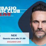 L'arte e la positività di Nek a Subasio Music Club