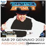 """Gianluca Grignani: Radio Subasio con  il concerto dei 25 anni de """"La fabbrica di plastica"""""""