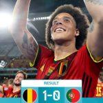 Europei: il Belgio elimina Ronaldo, per l'Italia sfida con Lukaku