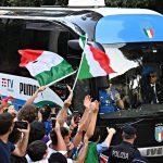 Italia Campione d'Europa. Gli azzurri rientrano a casa!