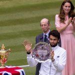 Tennis: Berrettini capitola, è Djokovic il re di Wimbledon