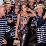 Jennifer Lopez: lo spettacolo di Dolce e Gabbana semplicemente magico