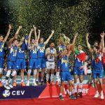 Italvolley sul tetto d'Europa, battuta la Slovenia 3-2