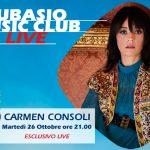 """A Subasio Music Club arriva """"la Cantantessa"""" Carmen Consoli"""