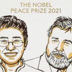 Premio Nobel per la Pace 2021 a Maria Ressa e Dmitry Muratov