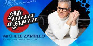 """Debutta """"Mi ritorni in mente"""". Michele Zarrillo e le sue canzoni della vita"""